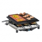 Raclette Plus Delux Chrome